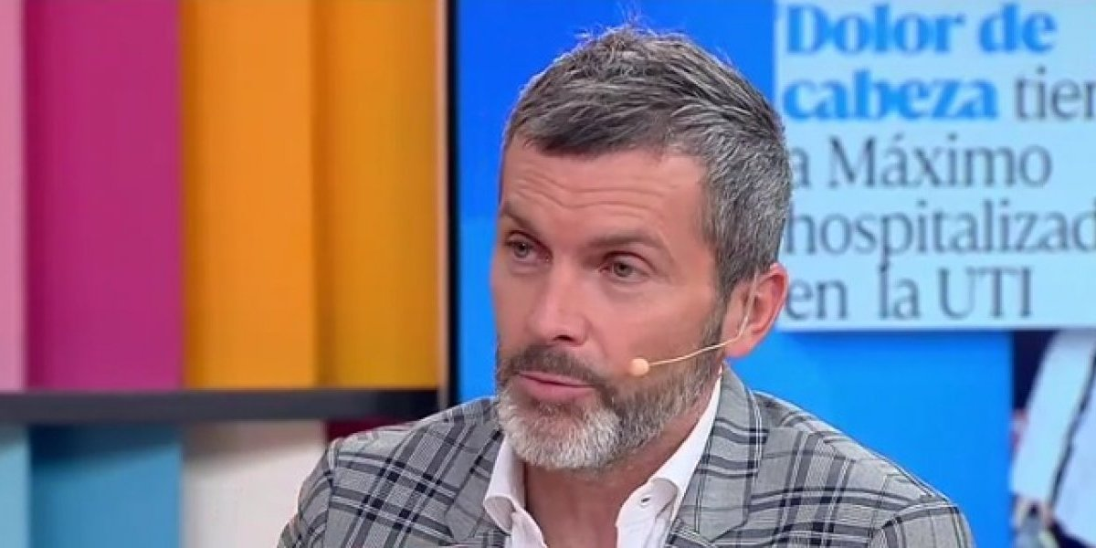 """Cristián Sánchez destrozó a José Miguel Viñuela con polémico comentario en el """"Muy Buenos Días"""""""