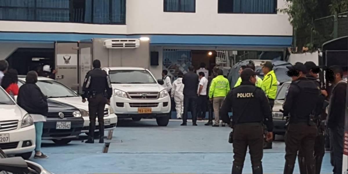 Dos personas fueron estranguladas en Ambato, uno de ellos era dueño de un local