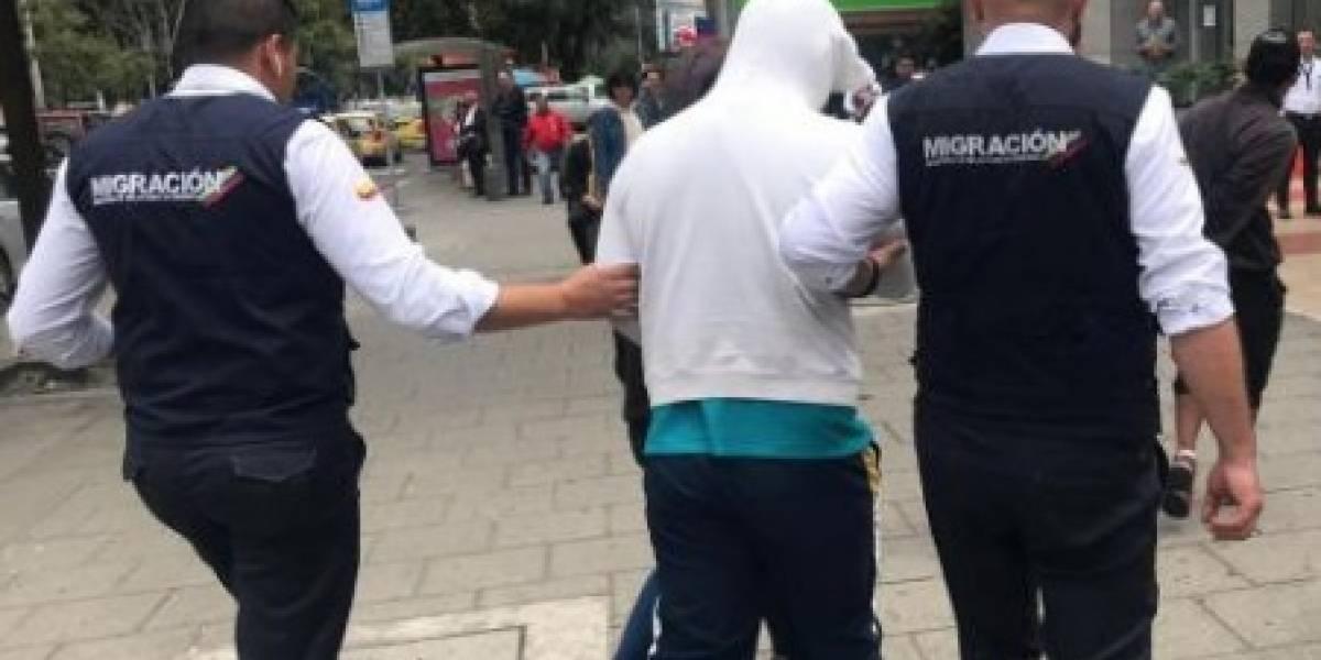 Otros venezolanos serán expulsados del país por robar una camioneta en Bogotá