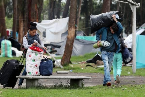Se fugan venezolanos que iban a ser expulsados del país