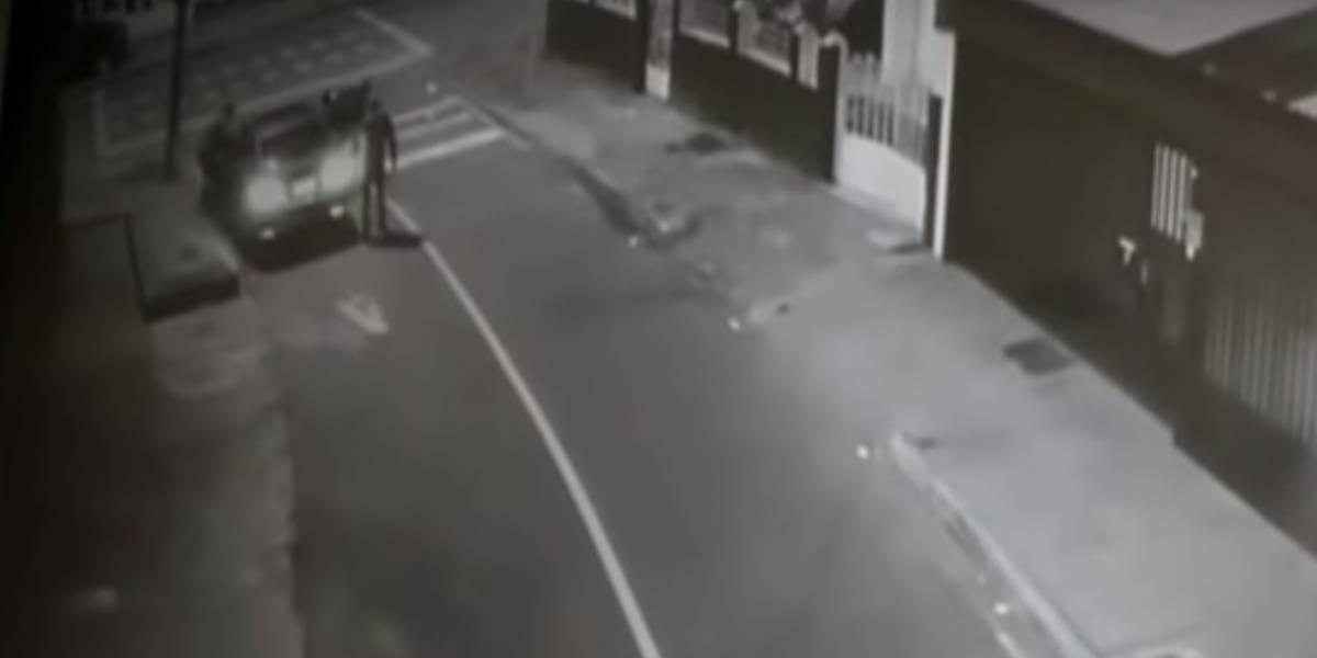 Así fue el angustiante momento que vivió una pareja secuestrada en su propio carro