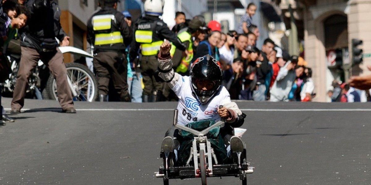 Quito revivirá sus tradicionales carreras de coches de madera por sus fiestas