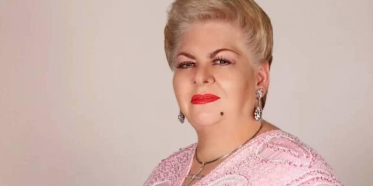 Video: Paquita La Del Barrio se quedó dormida durante entrevista