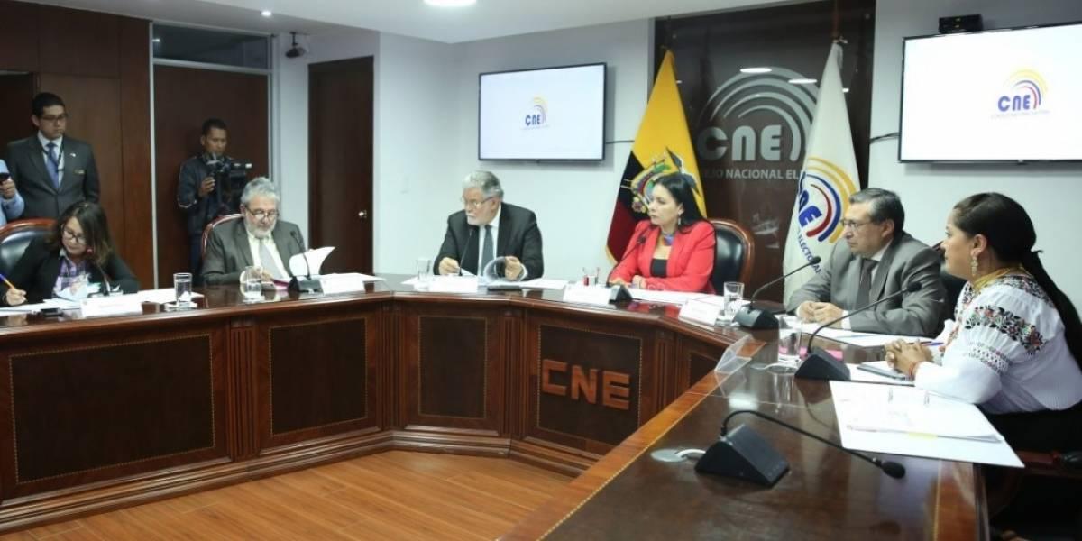 CNE anuncia que el 24 de marzo de 2019 se realizarán las Elecciones Seccionales