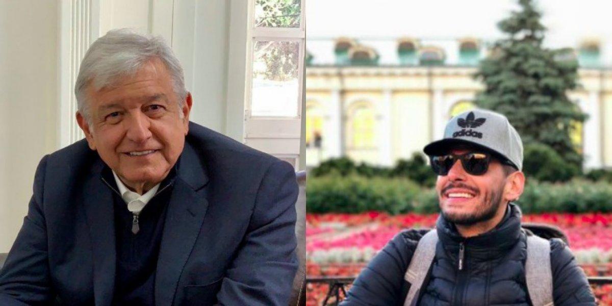 'Rafa' Márquez Lugo visitó a Andrés Manuel López Obrador para tratar temas deportivos