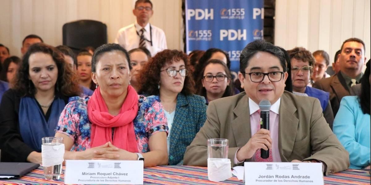 Recorte financiero a la PDH obligaría a que funcione hasta octubre de 2019