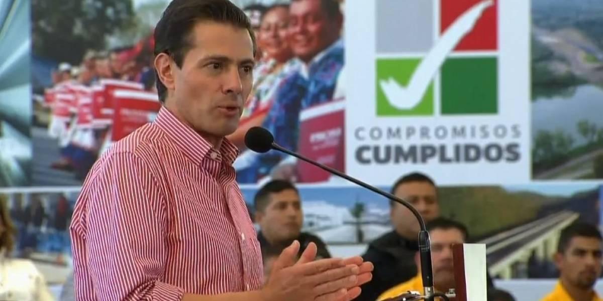 Cumplimos con 97% de los compromisos del sexenio, asegura Peña Nieto