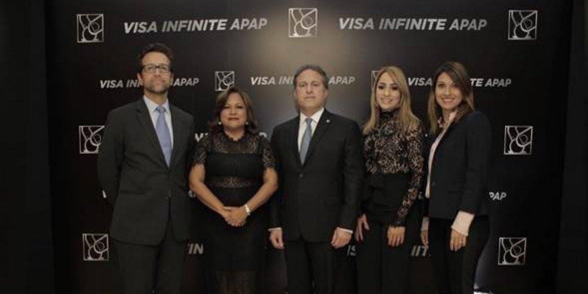 #TeVimosEn: APAP presenta al mercado nueva tarjeta Visa Infinite