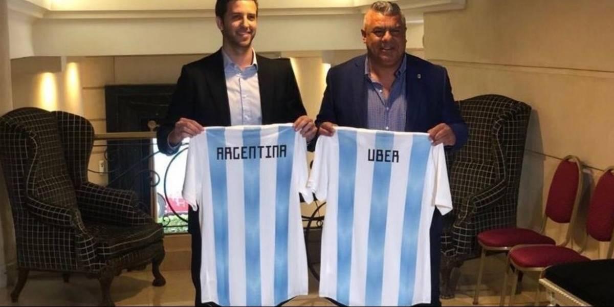 Uber y su nueva estrategia de cara a la legalización en América Latina: Será sponsor de la selección argentina