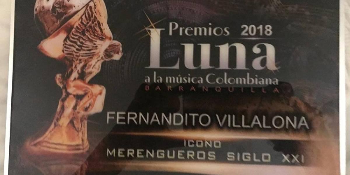 """Fernando Villalona declarado """"Artista ícono del siglo XXI"""""""