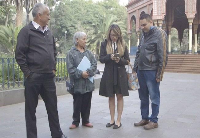 Familiares presentaron un video en el momento del arresto Foto: UNO TV