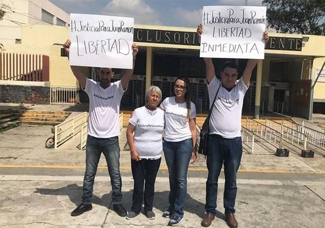 Se realizó una campaña en apoyo al estudiante de la UACM Foto: UNO TV