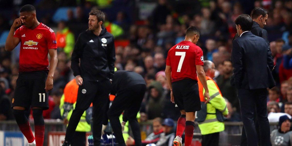 """""""El último que cayó en la maldición del 7"""": Alexis está lejos de convencer en el United y suma más críticas"""