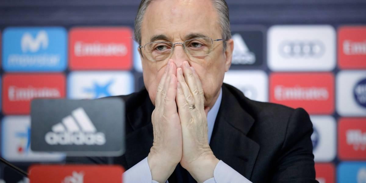 Florentino Pérez, acusado de manipular votación del Balón de Oro