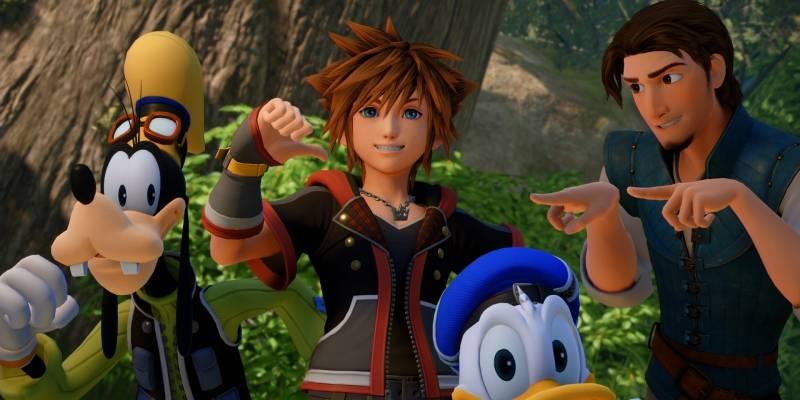 Completan el desarrollo de Kingdom Hearts III y lo celebran con nuevo tráiler