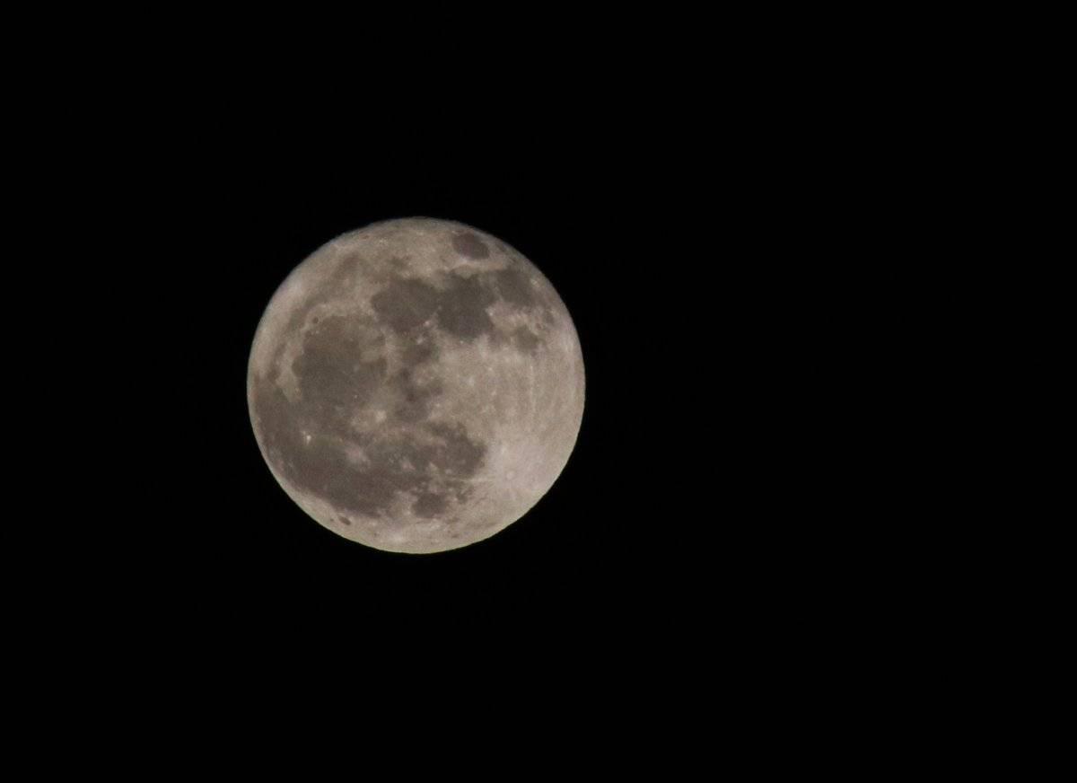 Luna llena, la última de otoño Foto: Cuartoscuro