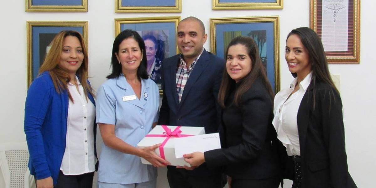 Liga Dominicana Contra el Cáncer recibe donativo