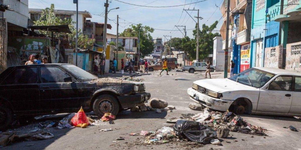 Haití continúa paralizada tras la protesta contra la corrupción y el Gobierno