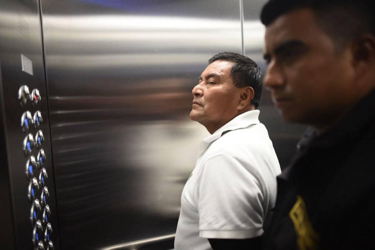 """Santos López Alonzo, condenado por el caso """"Dos Erres"""". Foto: Edwin Bercián"""