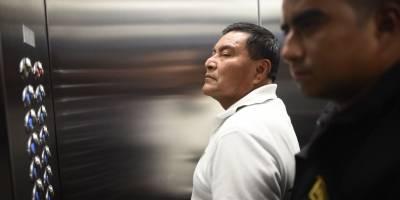 """Santos López Alonzo, condenado por el caso """"Dos Erres""""."""