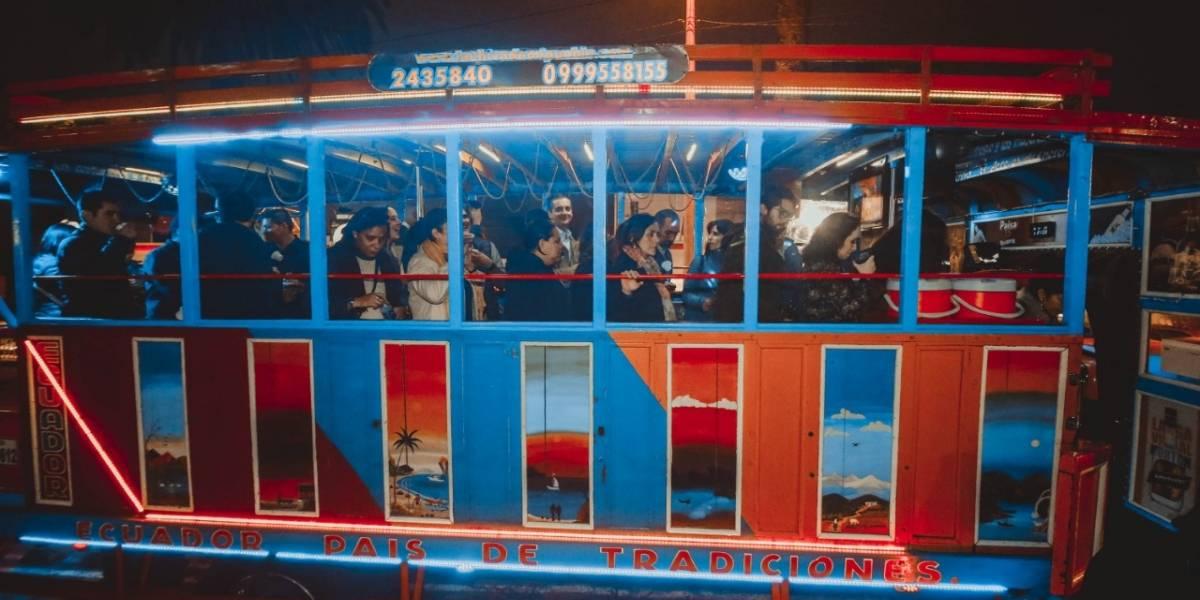 AMT: El 26 de noviembre inician los operativos de control en las chivas por Fiestas de Quito