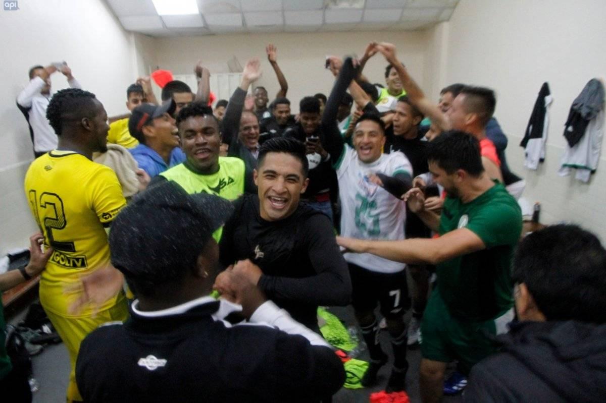 América de Quito vs Liga de Portoviejo API