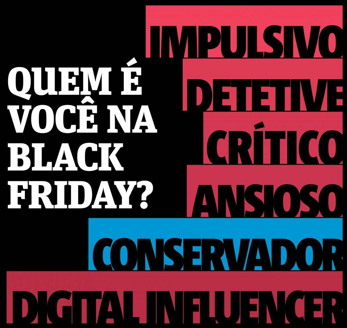 Quem é você na Black Friday