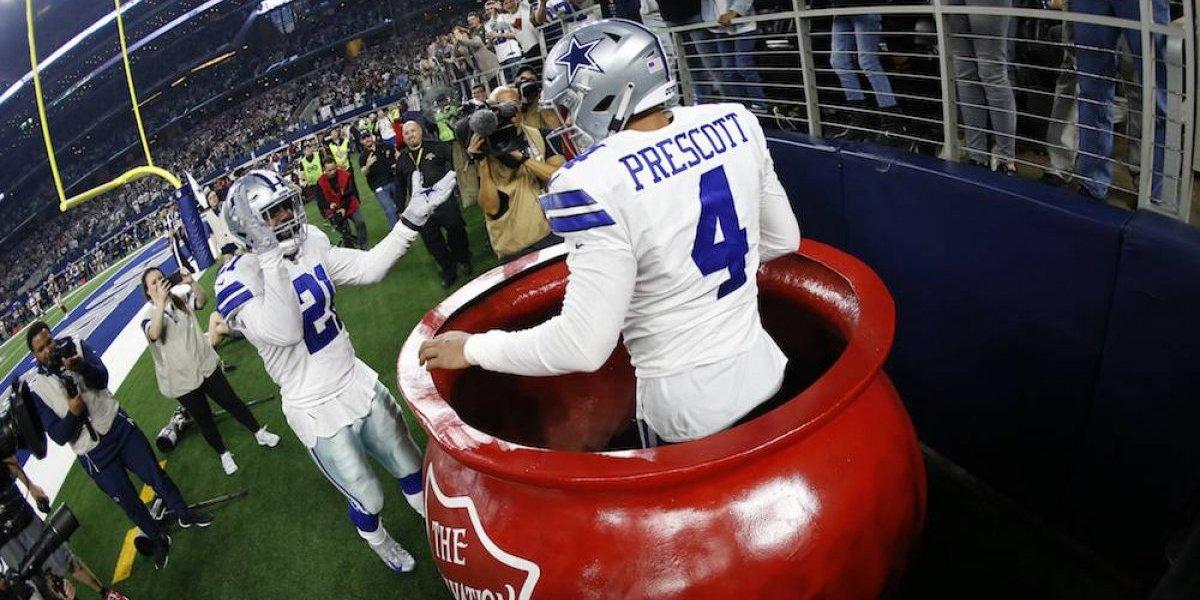 Cowboys alcanza a Redskins en la cima divisional