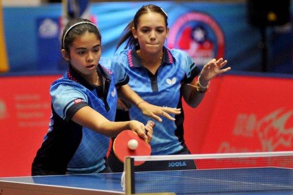 Melanie Díaz, Daniely Ríos - tenis de mesa, Campeonato Panamericano Adulto 2018