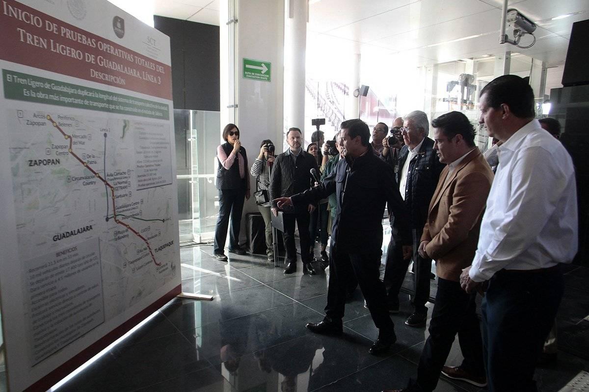 Omiten fallos de la Línea 3 en visita presidencial