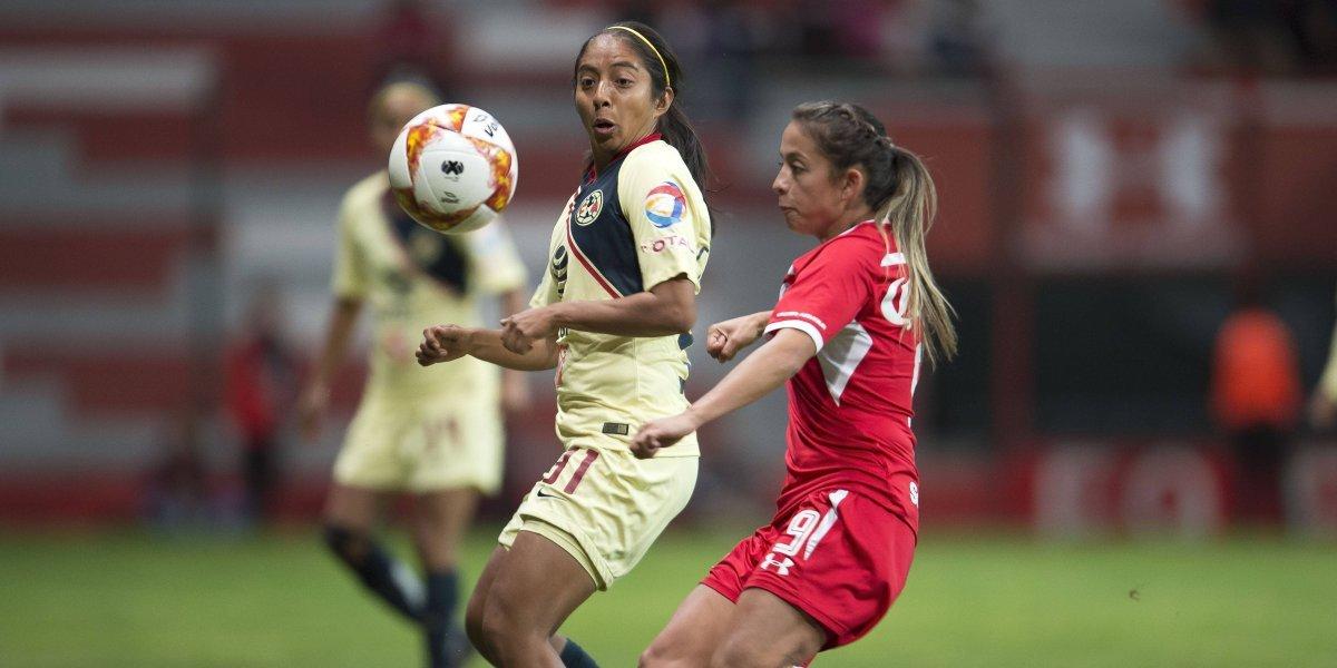 Toluca y América empatan en el inicio de la liguilla de la Liga MX Femenil