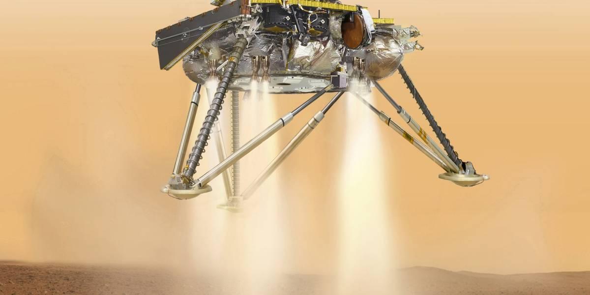 Los seis minutos de terror del InSight en Marte: la nave de la Nasa no puede cometer ningún error