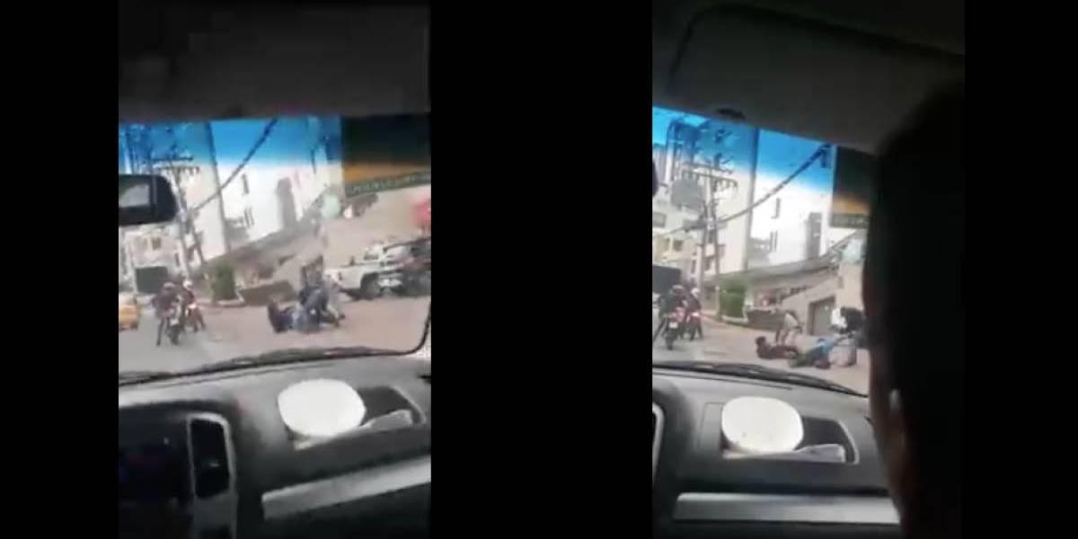 Quito: Se ha identificado al presunto responsable del asalto en la Portugal y 6 de Diciembre