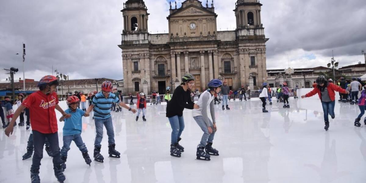Las atracciones del Festival Navideño del Paseo de La Sexta ya están listas para llenarte de diversión