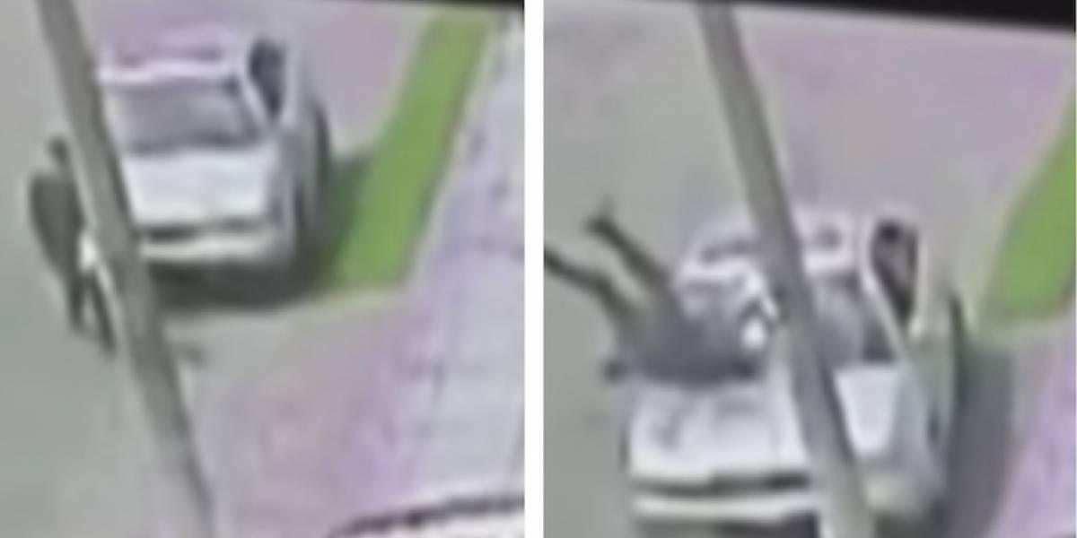 VIDEO: conductor atropelló abuelo de 91 años en Bogotá y escapó