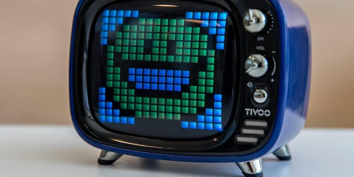 Tivoo: Así es el parlante con forma de TV en el que también puedes dibujar