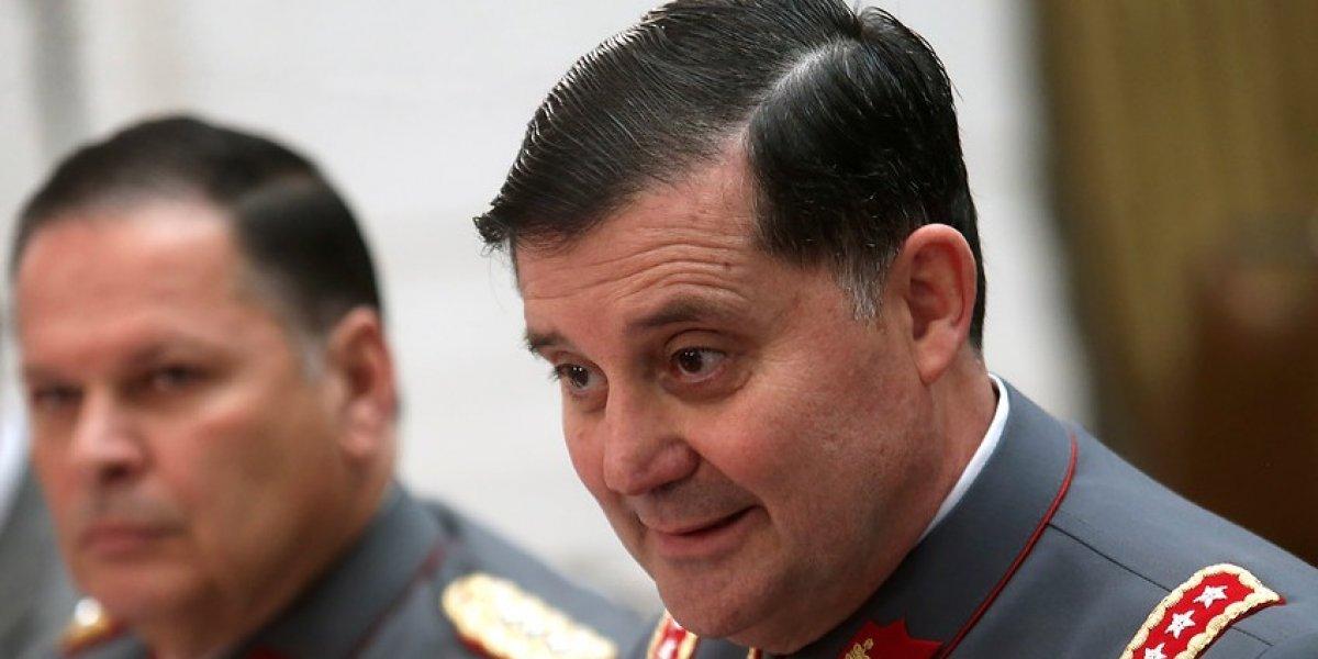 Comandante del Ejército comparecerá este viernes al Ministerio de la Defensa por venta de armas al crimen organizado