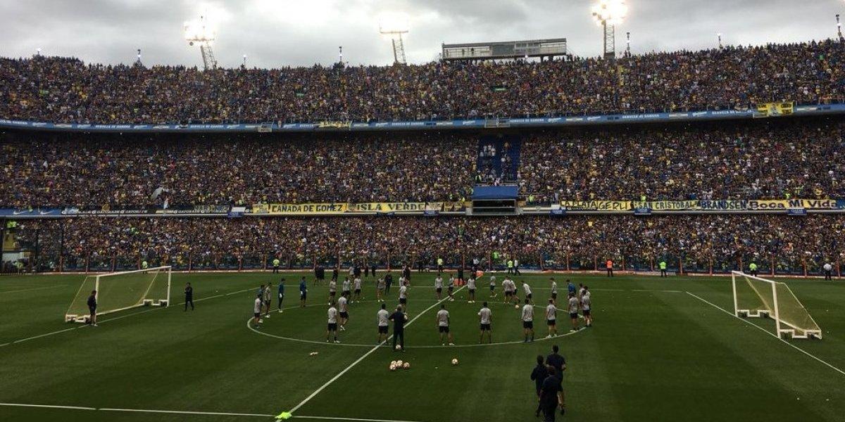 """Los hinchas de Boca conmovieron al mundo con un """"Bombonerazo"""" antes de la súper final de la Libertadores"""