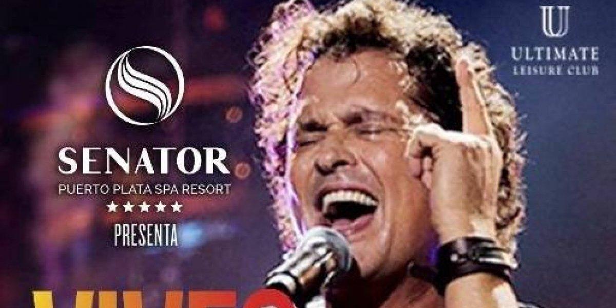 Carlos Vives cantará en Puerto Plata el sábado 22 de diciembre
