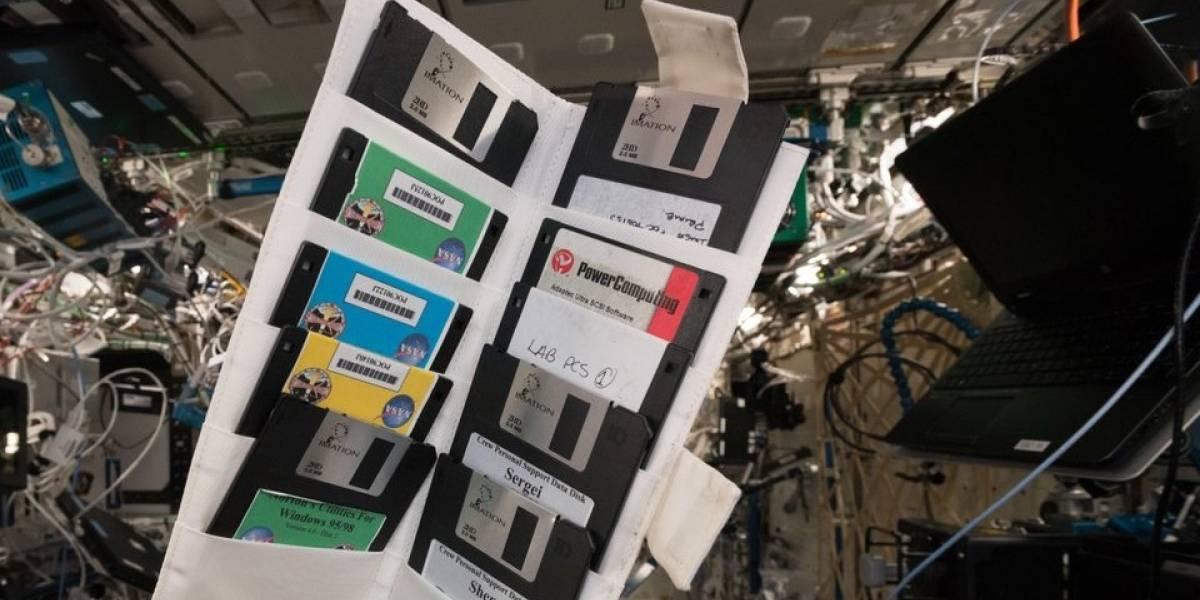 Encuentran una colección olvidada de disquetes en la Estación Espacial Internacional