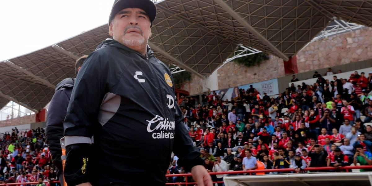 Maradona vuelve a manifestar su sueño de dirigir al América