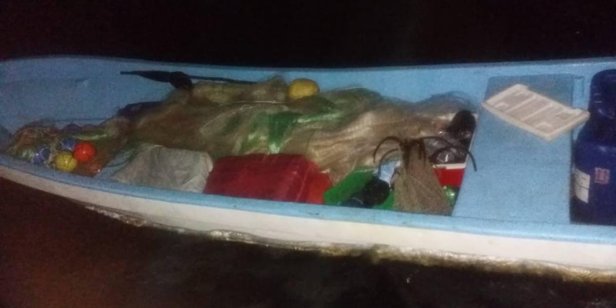 Marina guatemalteca interceptó una lancha con posibles ilícitos a bordo en costas del Pacífico