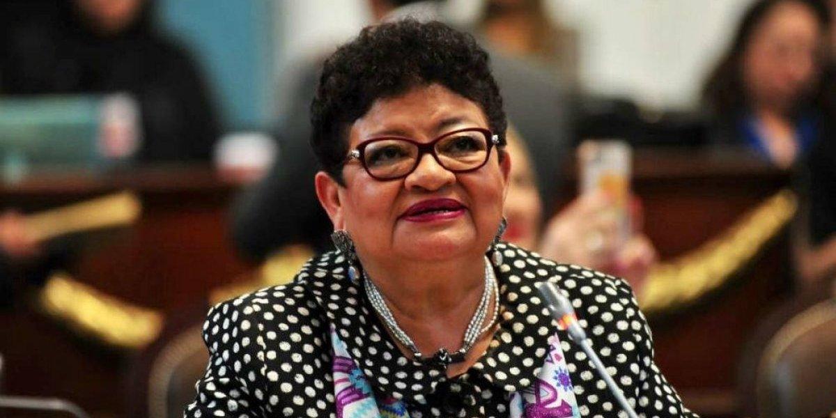 Designan a Ernestina Godoy como titular de la PGJ