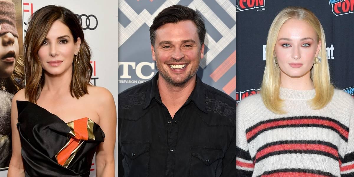 CCXP 2018: Sandra Bullock, Tom Welling e Sophie Turner confirmam presença na feira