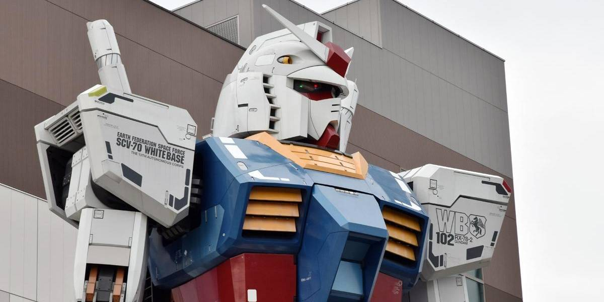 Japoneses construyen un Gundam tamaño real con movimiento