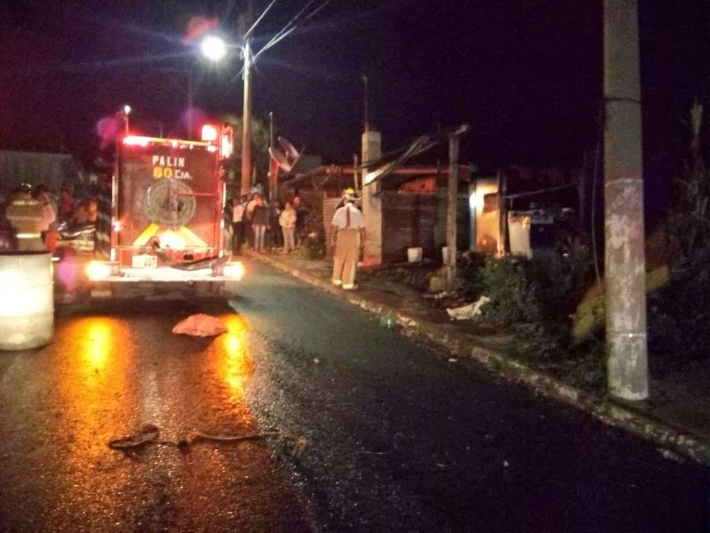 incendio en vivienda de Palín, Escuintla