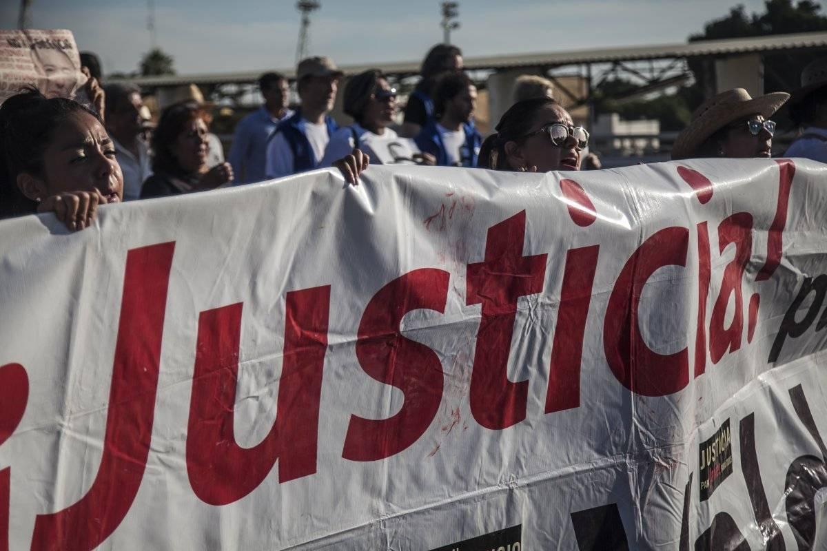 El 15 de mayo hubo una marcha para exigir justicia del asesinato del periodista. Foto: Cuartoscuro