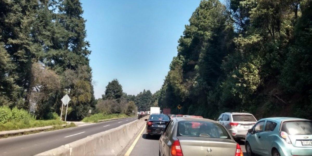 Reanudan circulación en la carretera México-Toluca