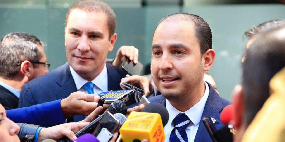Marko Cortés designa a Moreno Valle como coordinador panista en el Senado
