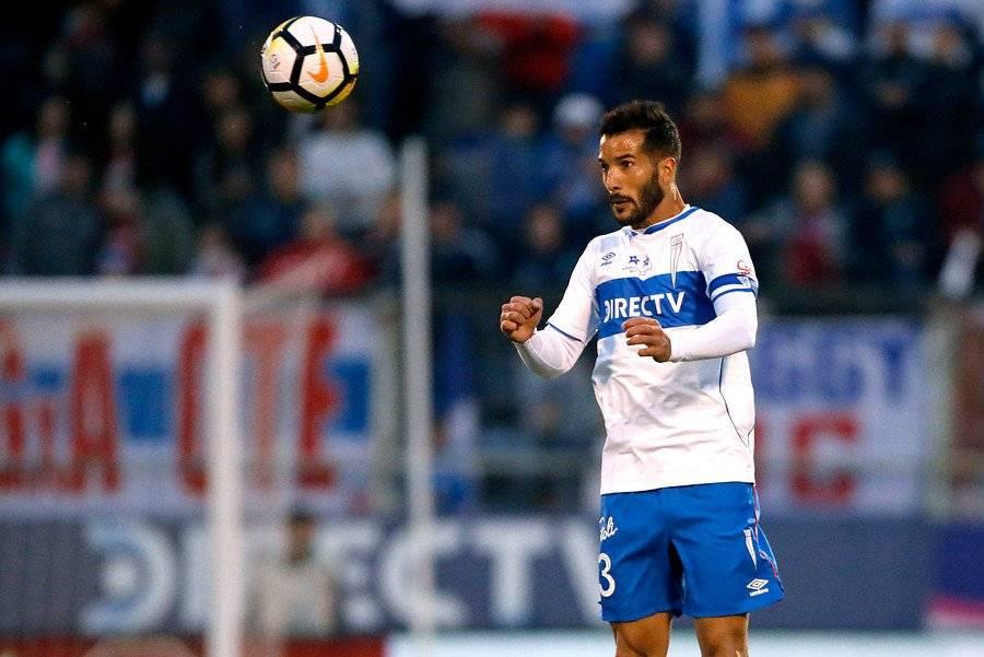 Germán Voboril se recuperó y será el lateral izquierdo de la UC ante O